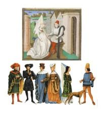 Image vêtements Moyen-âge