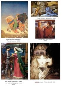 Référents artistiques Tristan et Iseult