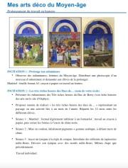 Séances Arts déco Moyen-âge