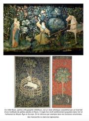 Tapisserie mille fleurs