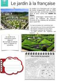 Jardin française