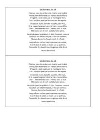 Poèmes guerre et paix