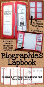 Biography lapbook
