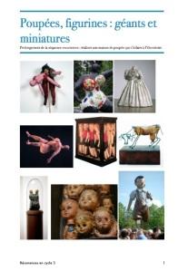 Poupées, figurines, arts visuels