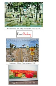 Images cahier d'art David Hockney