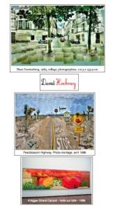 Images cahier d'art David Hockney