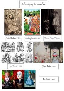 Images Alice cahier d'art