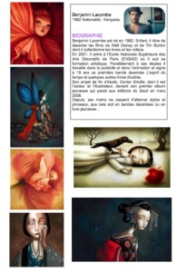 Images cahier d'art Benjamin Lacombe