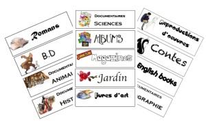 Visuel étiquettes BCD